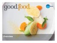Good Food Online Short Credentials - Fairfax Media Adcentre
