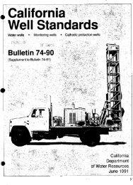 California Water Well Standards, DWR Bulletin 74 ... - County of Glenn