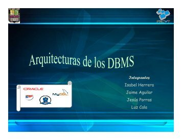 DBMS comerciales