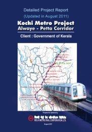 Download Detailed Project Report - Kochi Metro Rail Ltd.