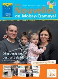 Nouvelles - Ville de Moissy-Cramayel