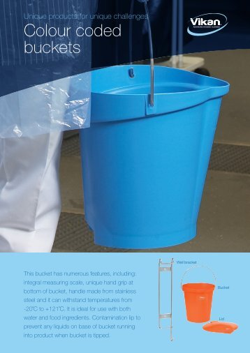 Buckets Product sheet - Vikan