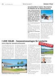I LOVE SOLAR - SEG Solar Energy GmbH