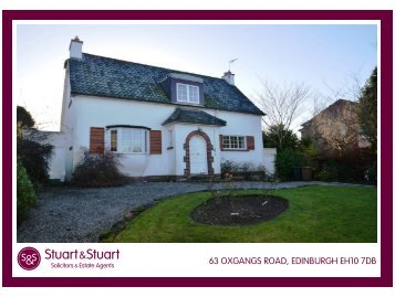 63 OXGANGS ROAD, EDINBURGH EH10 7DB - Stuart & Stuart
