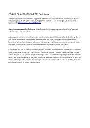 FOKUS PÅ ARBEJDSGLÆDE: Beskrivelse - Personaleweb