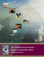 Report of Activities 2010 - Global Ocean Forum