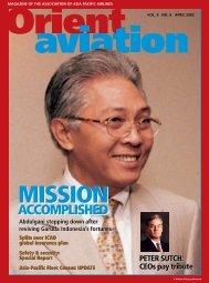 MISSION MISSION - Orient Aviation