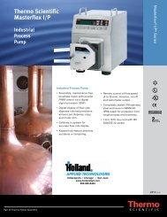 Thermo Scientific Masterflex I/P Industrial Process Pump