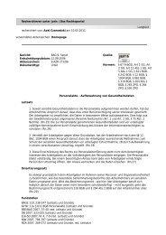 Recherchieren unter juris | Das Rechtsportal Langtext recherchiert von
