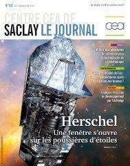 Vue d'artiste de l'observatoire spatial Herschel. - CEA Saclay