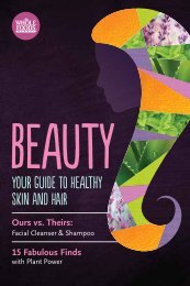 Your Guide to Healthy Skin and Hair - Whole Foods Market