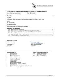 Protokoll 13 02 - Norsk musikkråd