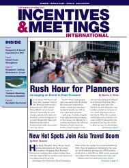 Rush Hour for Planners - micePLACES