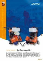 Asphalt & Beton C99 Fugenschneider - Norton Construction Products