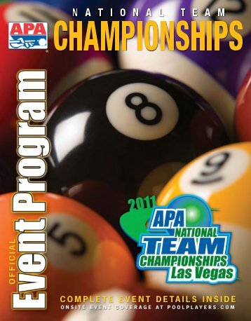 NTC Souvenir 04 (Page 1) - American Poolplayers Association