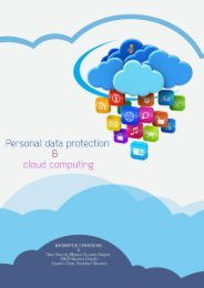 Cloud computing and personal data protection