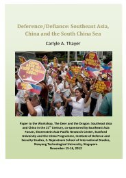 Deference/Defiance: Southeast Asia, China and the ... - Viet-studies
