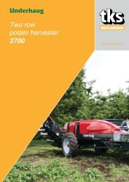 Two row potato harvester 2700 - TKS AS