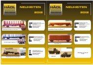 Hädl TT,H0 Neuheiten 2012 - Modellbahnshop Sebnitz