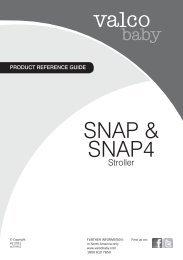 SNAP & SNAP4 - Valco Baby
