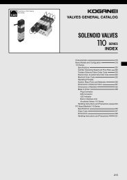 solenoid valves 110 series