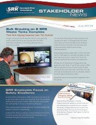 July 2012 - Savannah River Remediation LLC
