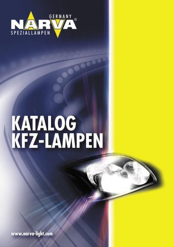 NARVA- Katalog