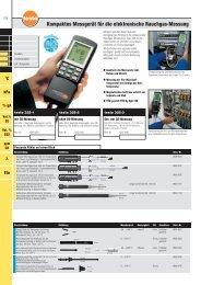 Kompaktes Messgerät für die elektronische Rauchgas-Messung