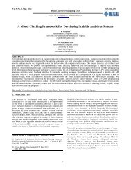 A Model Checking Framework For Developing Scalable Antivirus ...