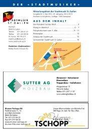 Stand 10. Mai 2012 - Stadtmusik SG