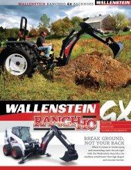 Wallenstein Backhoes - Edney Distributing Co. Inc.