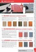 CENÍK střešní krytiny - KB - BLOK systém, sro - Page 6