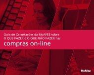 compras on-line - McAfee