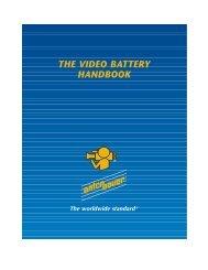 Video Battery Handbook - Anton/Bauer