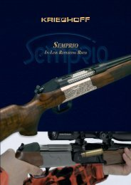 specifications and options - Krieghoff