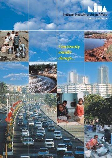 2005 - 2006 - National Institute of Urban Affairs