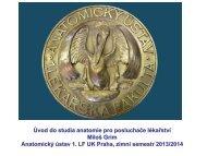 Gr - Anatomický ústav 1.LF UK - Univerzita Karlova