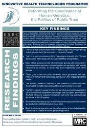 Findings - University of York