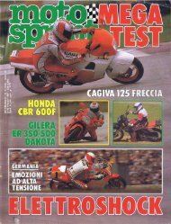 Motosprint 21 1987 - Gilera Bi4
