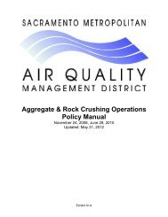 Aggregate & Rock Crushing Operations Policy Manual - Sacramento ...