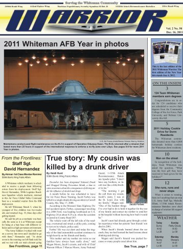 Dec. 16, 2011 - Whiteman Air Force Base