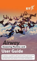 Airway Ans Machine Card - BT.com