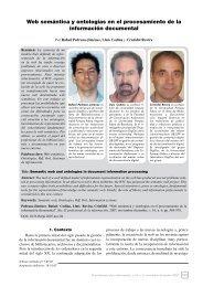 Web semántica y ontologías en el procesamiento de la información ...