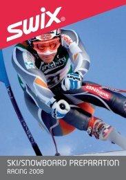 Swix Wachanleitung Alpin 2008 - SKI TEAM Thunersee