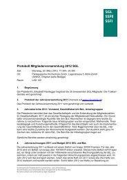 Protokoll MV 2012