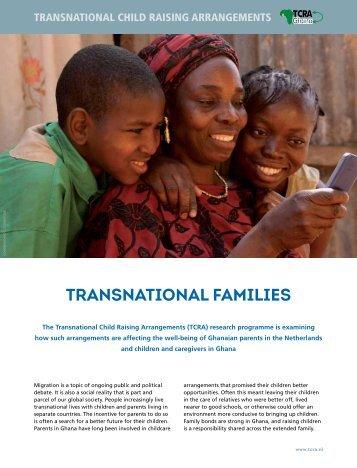 TRANSNATIONAL FAMILIES - Wereld in Woorden