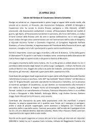 25 APRILE 2013 - Sentieri e Cascine