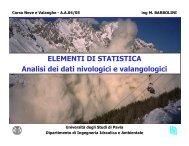 LEZIONE 5 - 13 aprile 2005 - Università degli Studi di Pavia