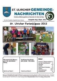 Folge 5/2012 (10,13 MB) - .PDF - St. Ulrich bei Steyr