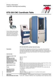 KTS-550 CNC Coordinate Table - Soyer